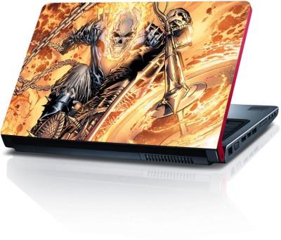 Shopkeeda Ghost Rider Vs Blue Ghost Rider Vinyl Laptop Decal 15.6