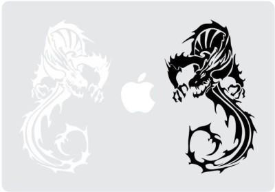 Engrave Dragon Duo Vinyl Laptop Decal 15