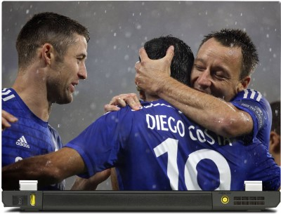 SkinShack Diego Costa, John Terry and Gary Cahill Celebration (12.1 inch) Vinyl Laptop Decal 12.1