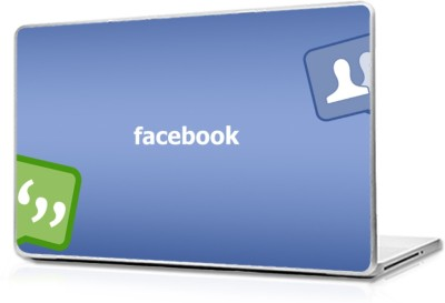 Global Facebook Vinyl Laptop Decal