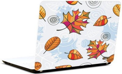Pics And You Leaf Pattern Vinyl Laptop Decal