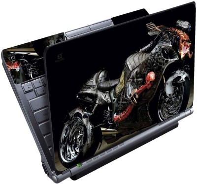 FineArts Ghost Bike Full Panel Vinyl Laptop Decal 15.6