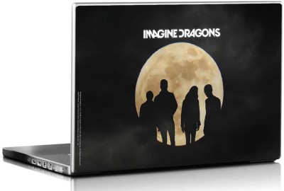 Bravado Imagine Dragons Night Vision Blue Moon Vinyl Laptop Decal 15.6