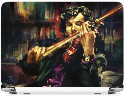 FineArts Sherlock Holmes Vinyl Laptop Decal