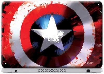 Planet Superheroes Splash Shield Vinyl Laptop Decal