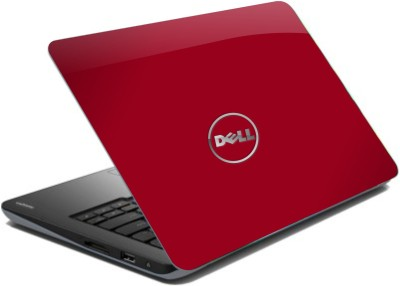 WoWCreations Corporate Red Dell Vinyl Laptop Decal
