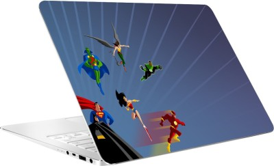 AV Styles Super Heros Vinyl Laptop Decal 15.6