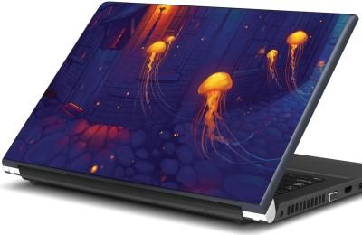 Artifa Jellyfish artwork Vinyl Laptop Decal 15.6