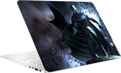 AV Styles Batman In Thunder By Av Styles Vinyl Laptop Decal 15.6
