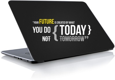 Devendra Graphics Future You Do Not Today Vinyl Laptop Decal 15.6