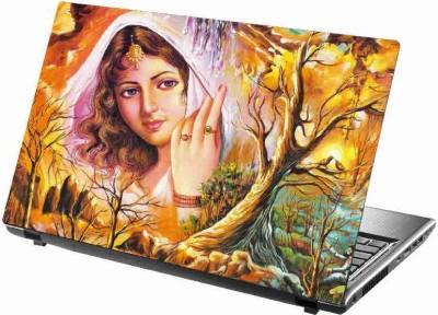 virtual prints A beautifull girl with nature digitally printed vinyl Laptop Decal 15