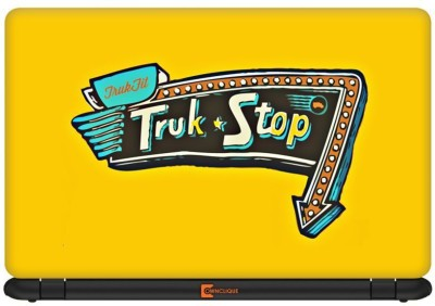 Urban Monk Truk Stop Vinyl Laptop Decal 13.3