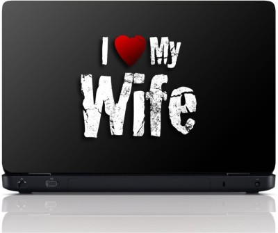 MGN I Love my Wife Vinyl Laptop Decal 15.6