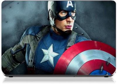 Friendly Formals The-Winter-Soldier-Captain Vinyl Laptop Decal