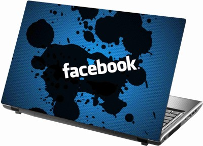 Sab Kuch Print Face Book 253 Polyester Laptop Decal 14.1