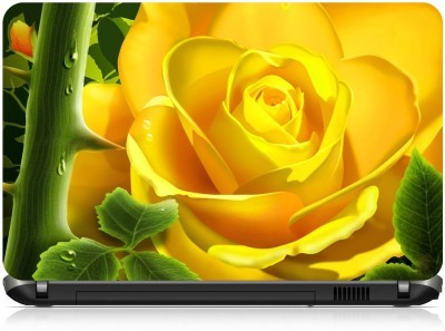 NG Stunners Yellow Flower Abstract 2144 Vinyl Laptop Decal