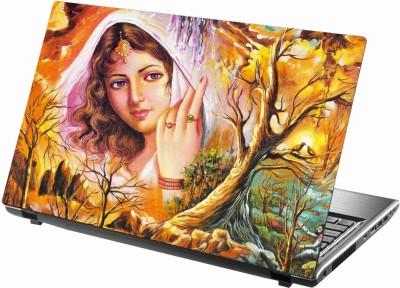 Sab Kuch Print Love 227 Polyester Laptop Decal 14.1