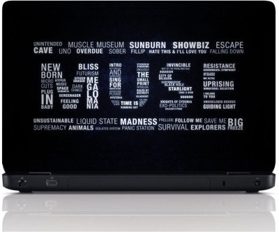 MGN Music Madness Vinyl Laptop Decal 15.6