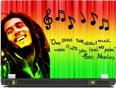 Skinkart Bob Marley Vinyl Laptop Decal