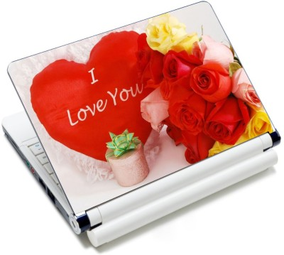 CrazyLiner Valentine Day Roses Vinyl Laptop Decal 15.6