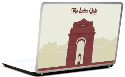 Lab No. 4 The India Gate Famous New Delhi Vinyl Laptop Decal