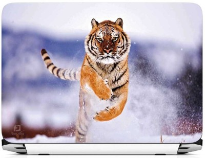 FineArts Liger in Ice Vinyl Laptop Decal 15.6