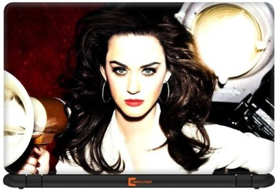 Ownclique Beautiful Katy Perry Vinyl Laptop Decal 13.3