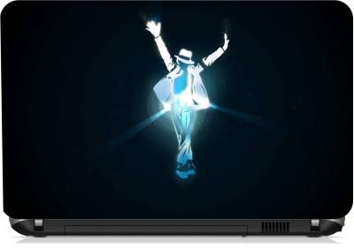Print Shapes Michael Jackson Logo Vinyl Laptop Decal 15.6