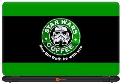 Ownclique Star Wars Coffee-Green Edition Vinyl Laptop Decal