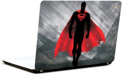 Pics And You Superman Red Eyes Vinyl Laptop Decal 15.6