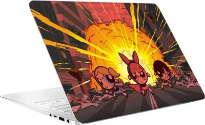 AV Styles Powerpuff Girls Laptop Skin Vinyl Laptop Decal