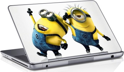 Innovate Two Minions_1065 Vinyl Laptop Decal 15.6