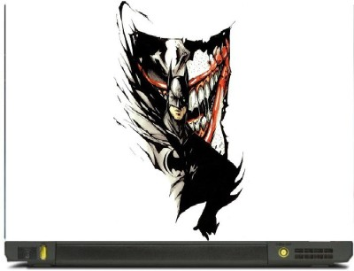 Livestash Joker Vs Batman Vinyl Laptop Decal
