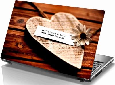 Sab Kuch Print Love Heart 41 Polyester Laptop Decal 14.1