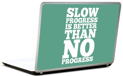 Lab No. 4 Slow Progress Is Better Than No Progress Vinyl Laptop Decal
