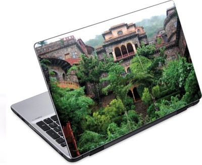 ezyPRNT The Awesome Greenary around Fort Nature (14 to 14.9 inch) Vinyl Laptop Decal 14