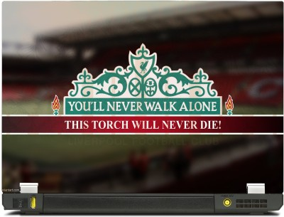 SkinShack New 3D Liverpool YNWA You will Never Walk Alone - The Torch will Never Die (10.1 inch) Vinyl Laptop Decal 10.1