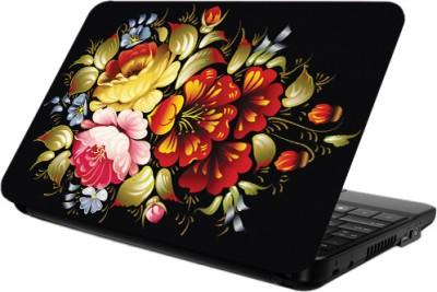 Printland Black Color Laptop Skin Vinyl Laptop Decal 14.2