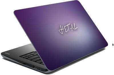 meSleep Purple Haze for Hetal Vinyl Laptop Decal
