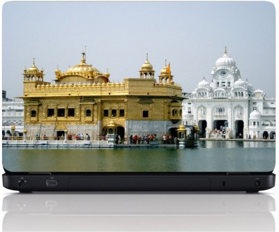 MGN Golden Temple View Vinyl Laptop Decal 15.6