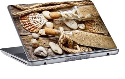 AV Styles bottle filled with sand skin Vinyl Laptop Decal