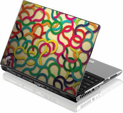 Seamen Colorful Bands Vinyl Laptop Decal