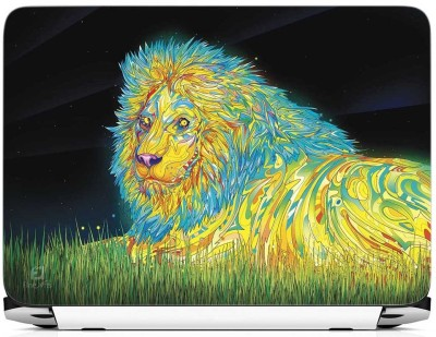 FineArts Lion Art Vinyl Laptop Decal 15.6