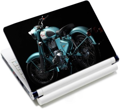 WoWCreations Blue Enfield Vnyl Laptop Decal 15.2