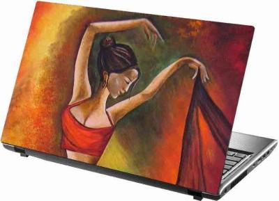 virtual prints painting image with girls digitally printed vinyl Laptop Decal 15