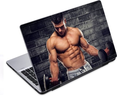 ezyPRNT Balanced Physique Body Builder (14 to 14.9 inch) Vinyl Laptop Decal 14