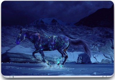 Trendsmate Horse Laser Art 3M Vinyl and Lamination Laptop Decal