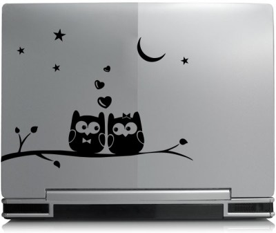 Decor Kafe Decor Kafe Two Owl in Night sticker Self Adhesive Vinyl Laptop Decal