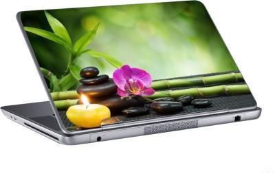 AV Styles flower with candle skin Vinyl Laptop Decal 15.6
