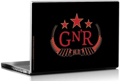 Bravado Guns N Roses Red Vinyl Laptop Decal 15.6